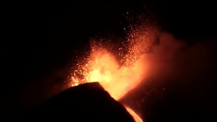 Lava sull'Etna