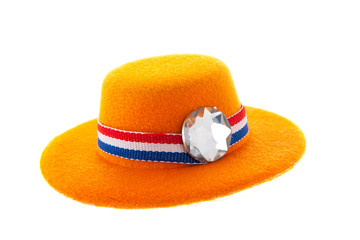 Dutch orange hat