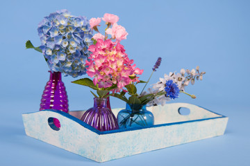 Tray flowers