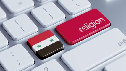 Syria Religion Concept