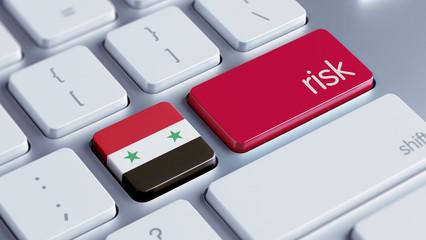 Syria Risk Concept