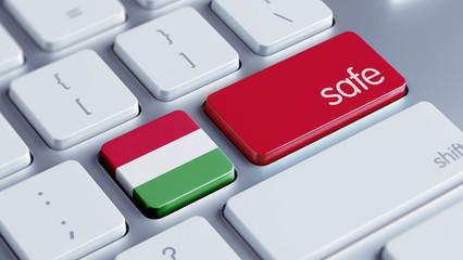 Hungary Safe Concept