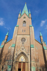 Famous Linkoping cathedral