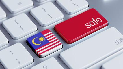 Malaysia Safe Concept