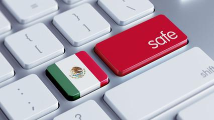 Mexico. Safe Concept