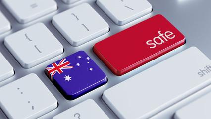 Australia Safe Concept