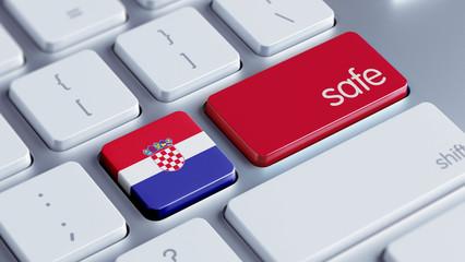 Croatia. Safe Concept