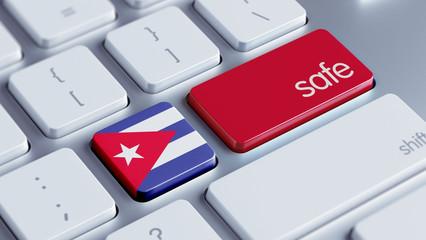 Cuba Safe Concept