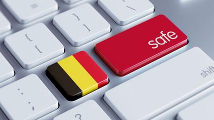 Belgium Safe Concept