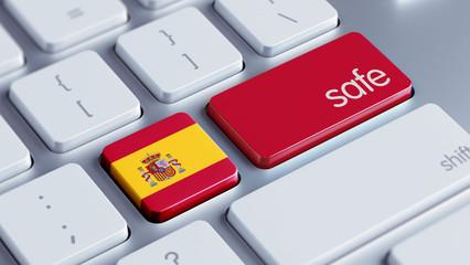 Spain Safe Concept