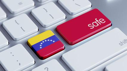 Venezuela Safe Concept