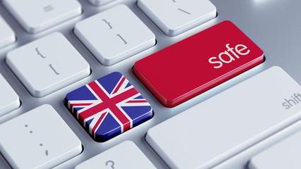 United Kingdom Safe Concept