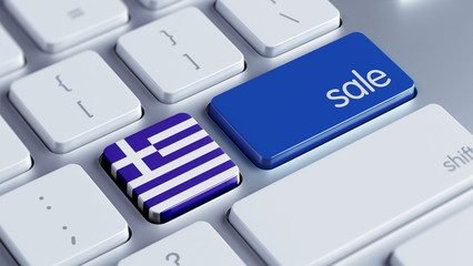 Greece Sale Concept