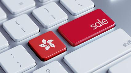 Hong Kong Sale Concept