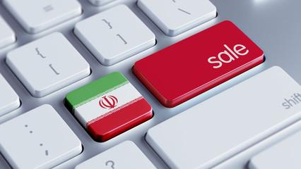 Iran Sale Concept
