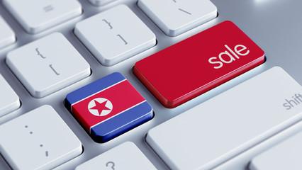 North Korea Sale Concept