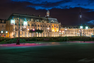 Bordeaux-place de la Bourse