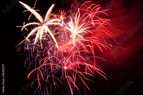 Plexiglas Uitvoering 4th Of July Fireworks