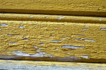 old painted wall surface