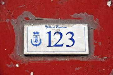Città di Ercolano - Napoli - numero civico 23
