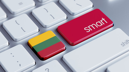 Lithuania Smart Concept