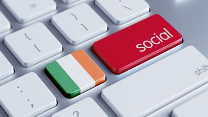Ireland Social Concept