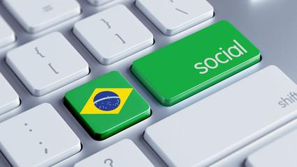 Brazil Social Concept