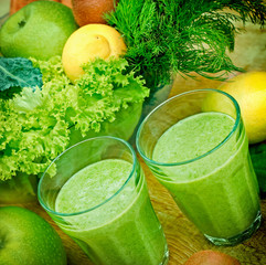 Green smoothie (organic smoothie9