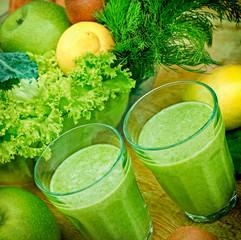 Green smoothie (organic smoothie9