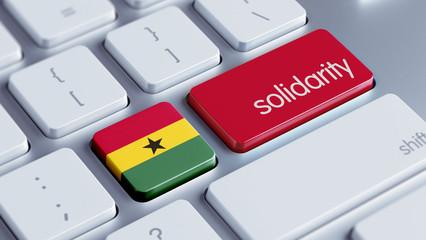 Ghana Solidarity Concept