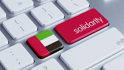United Arab Emirates. Solidarity Concept