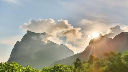 Clouds Time Lapse Rio Mirante da Gavea