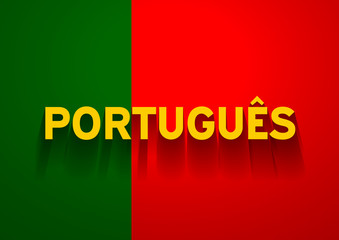 Speak Portuguese background