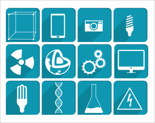 Collection Science icons