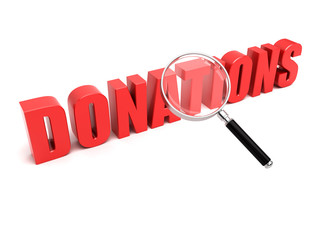 Donations search