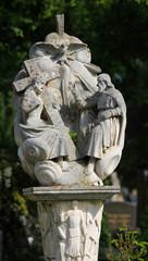 Holy Trinity statue on Zentralfriedhof in Vienna