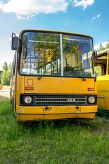 Historischer  Bus  Front