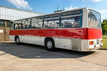 Historischer Bus aus dem Ostblock