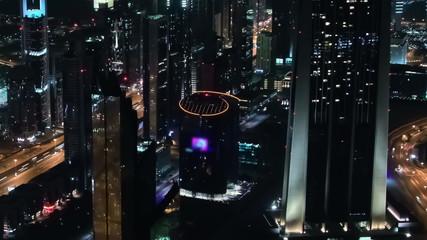 Dubai Cityscape Time Lapse Pan