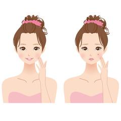 女性 美容 肌荒れ