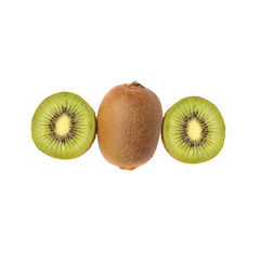 Kiwi fruit and Chinese gooseberry (Actinidia chinensis).