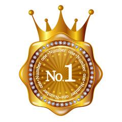 王冠 メダル フレーム