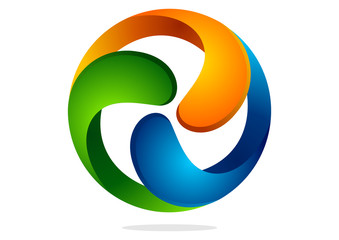 icon  corporate business abstract