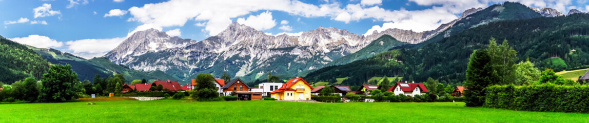 Mountains of  Shtiria, Austria, at summer
