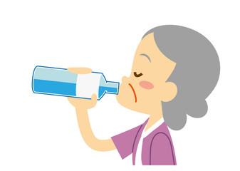 水分補給 おばあちゃん