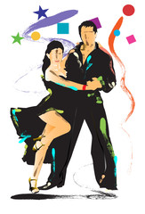 dance art brush