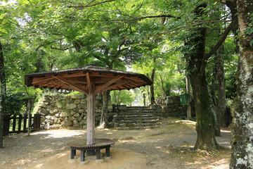 犬山城の乾門入り口