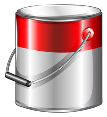 A tin of paint