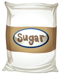 A packet of sugar