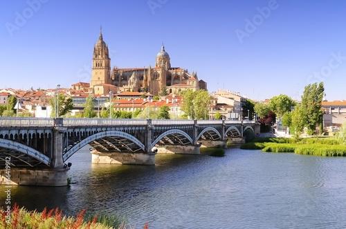 Foto op Canvas Bedehuis Salamanca cathedral.
